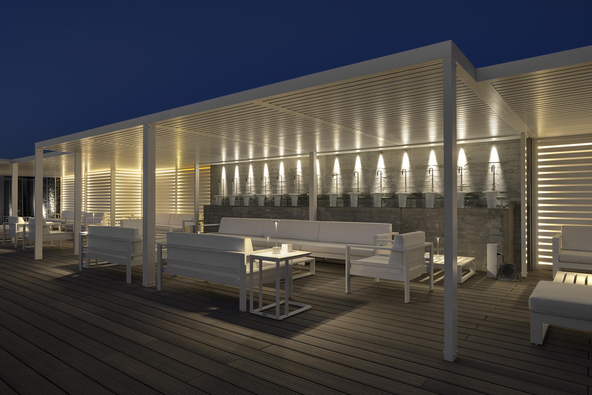 Florio terrazza | luminae lighting design